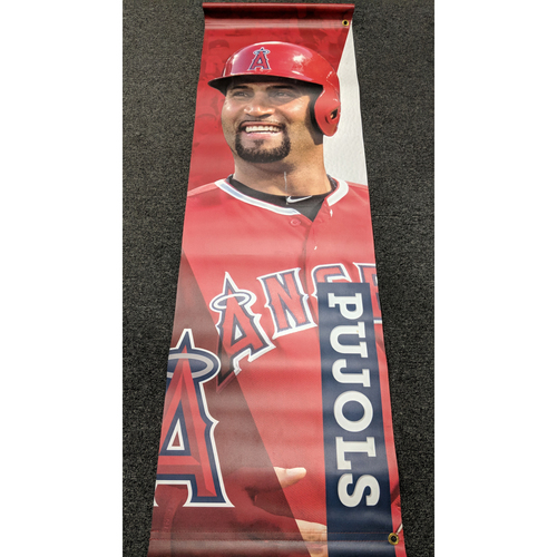Albert Pujols Team-Issued Banner