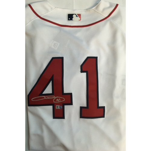 Photo of Chris Sale Autographed Authentic Red Sox Jersey