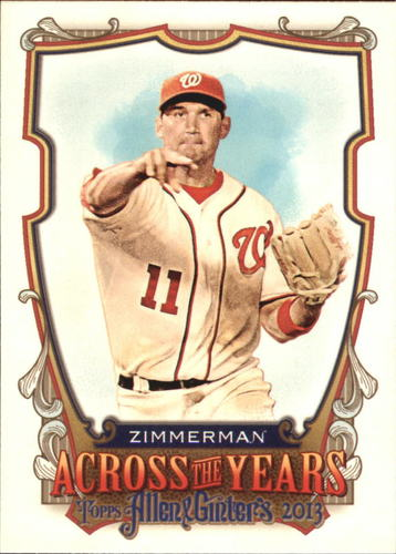 Photo of 2013 Topps Allen and Ginter Across the Years #RZ Ryan Zimmerman