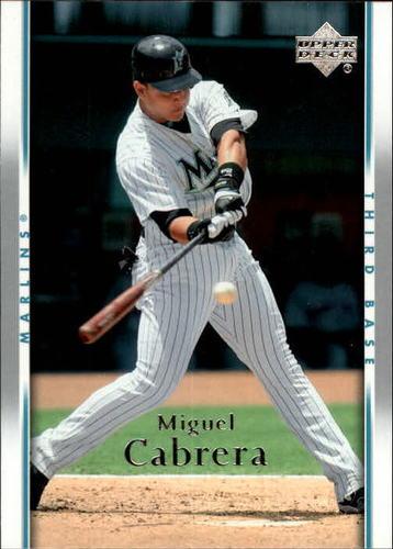 Photo of 2007 Upper Deck #706 Miguel Cabrera