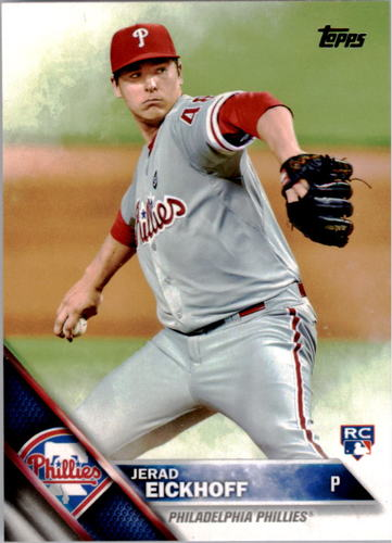 Photo of 2016 Topps #2 Jerad Eickhoff RC