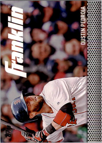 Photo of 2016 Topps Update Team Franklin #TF12 Dustin Pedroia