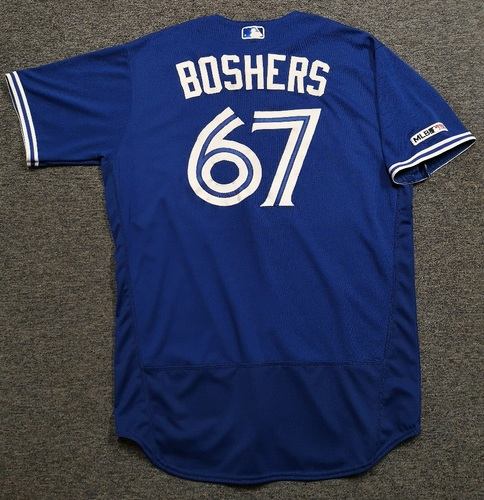 Photo of Authenticated Team Issued 2019 Jersey - #67 Buddy Boshers. Size 48.