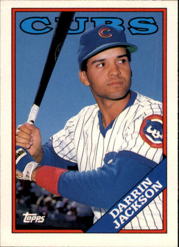 Photo of 1988 Topps Traded #56T Darrin Jackson XRC