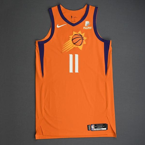 Image of Ricky Rubio - Phoenix Suns - Game-Worn Statement Edition Jersey - 2019-20 Season