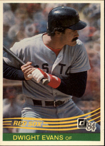 Photo of 1984 Donruss #395 Dwight Evans