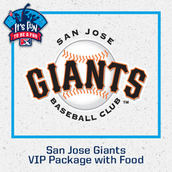 Photo of San Jose Giants VIP Package with Food