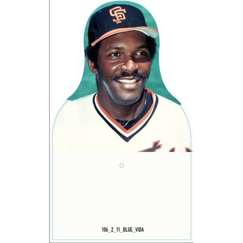 Photo of Giants Community Fund: Giants Vida Blue Cutout