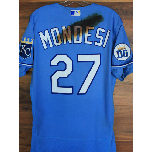 Photo of Alex's Lemonade Stand Foundation: Game-Used Adalberto Mondesi Jersey (Size 42 - 9/26/20 DET @ KC)