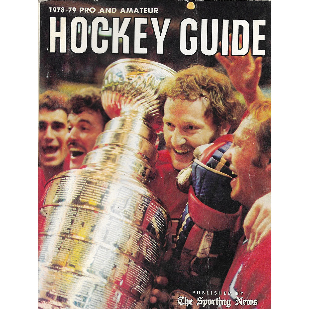 The Sporting News 1978-79 Pro and Amateur Hockey Guide