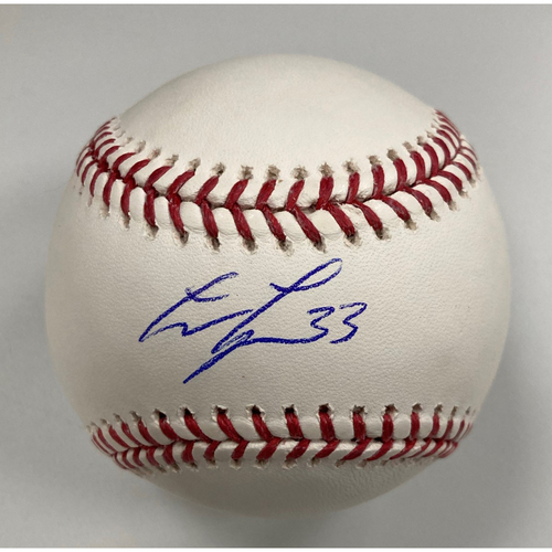 Photo of Lance Lynn Autographed Baseball
