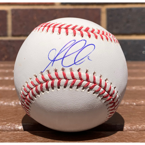 Photo of Ozzie Albies MLB Authenticated and Autographed Baseball
