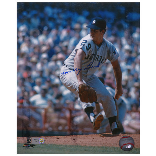 Detroit Tigers Mickey Lolich Autographed 8x10 Photo