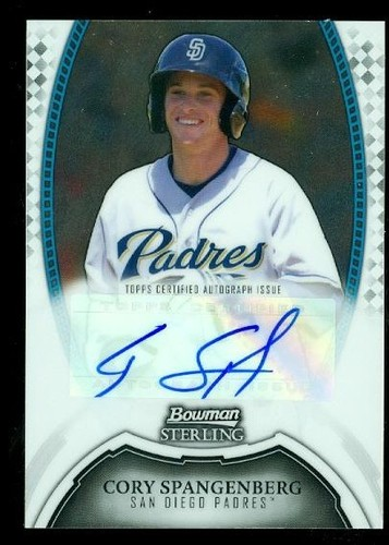 Photo of 2011 Bowman Sterling Prospect Autographs #CS Cory Spangenberg