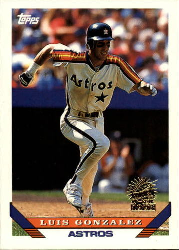 Photo of 1993 Topps Inaugural Marlins #362 Luis Gonzalez