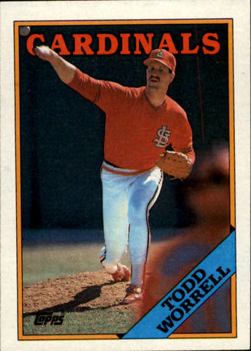 Photo of 1988 Topps #715 Todd Worrell