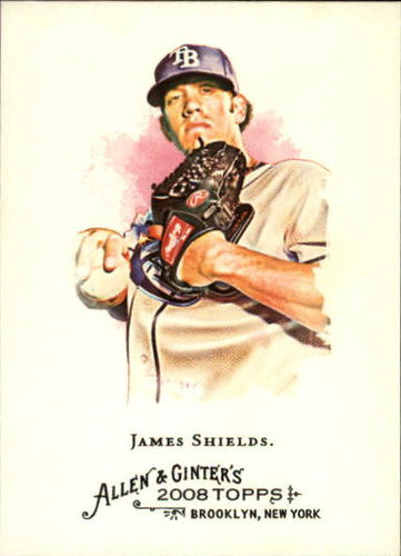 Photo of 2008 Topps Allen and Ginter #159 James Shields