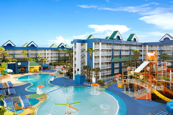 Clickable image to visit Family Waterpark Adventure at Holiday Inn Resort Orlando Suites
