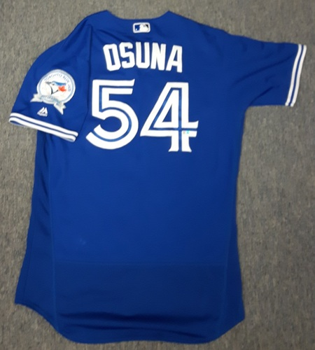 5ad7f063 Authenticated Game Used Jersey - #54 Roberto Osuna (July 30, 2016) -