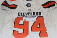 BCA - BROWNS RANDY STARKS GAME USED BROWNS JERSEY (OCTOBER 11, 2015)