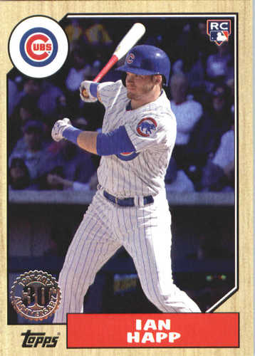 Photo of 2017 Topps Update '87 Topps #US8748 Ian Happ