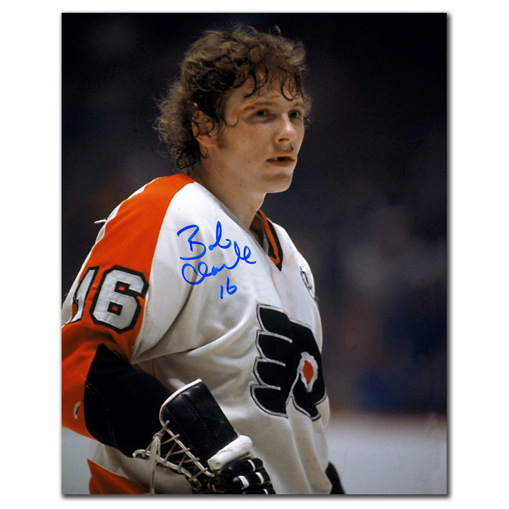 Bobby Clarke Philadelphia Flyers WARRIOR Autographed 8x10
