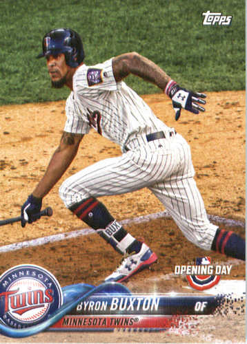 Photo of 2018 Topps Opening Day #64 Byron Buxton