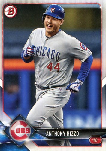 Photo of 2018 Bowman #33 Anthony Rizzo