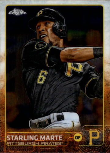 Photo of 2015 Topps Chrome #5 Starling Marte