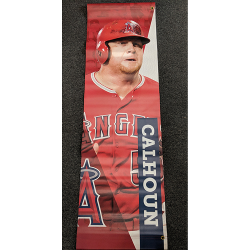 Photo of Kole Calhoun Team-Issued Banner