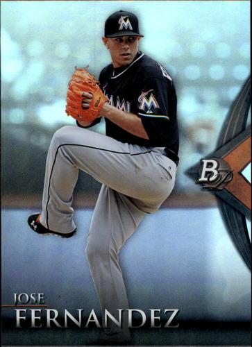 Photo of 2014 Bowman Platinum #36 Jose Fernandez