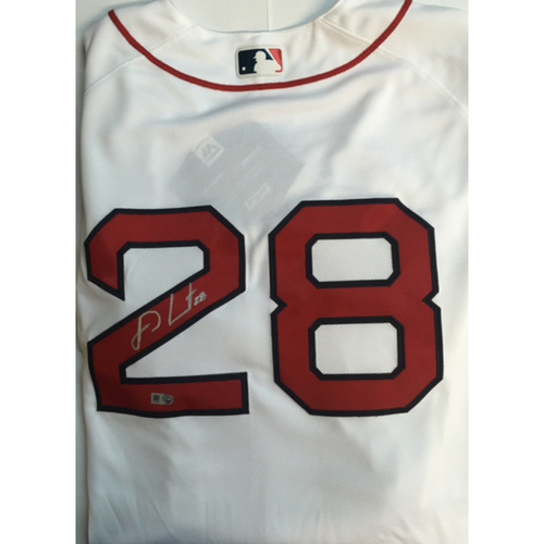 Photo of J.D. Martinez Autographed Authentic Red Sox Jersey