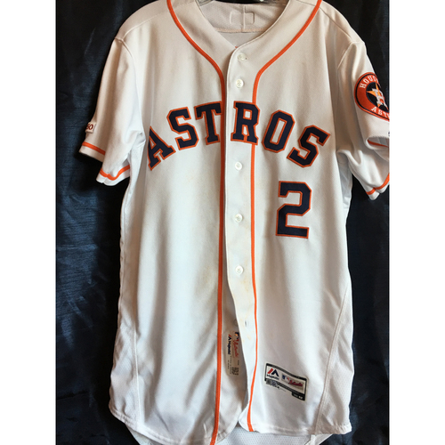 Photo of Alex Bregman 2019 Game-Used Jersey (Size 42) - 4/5, 4/6 vs. OAK, 4/23,4/24 vs. MIN