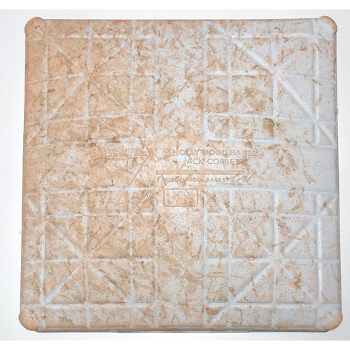 2019 Japan Opening Day Series - Exhibition Game - Game Used Base - 1st Base - Oakland Athletics at Nippon Ham Fighters - 3/17/2019