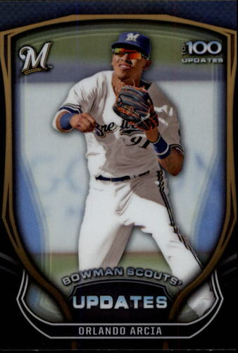 Photo of 2015 Bowman Chrome Bowman Scouts Update #BSUOA Orlando Arcia