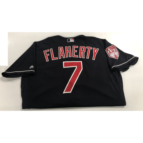 Ryan Flaherty Game Used 2019 Spring Training Jersey