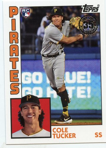 Photo of 2019 Topps Update '84 Topps #8424 Cole Tucker