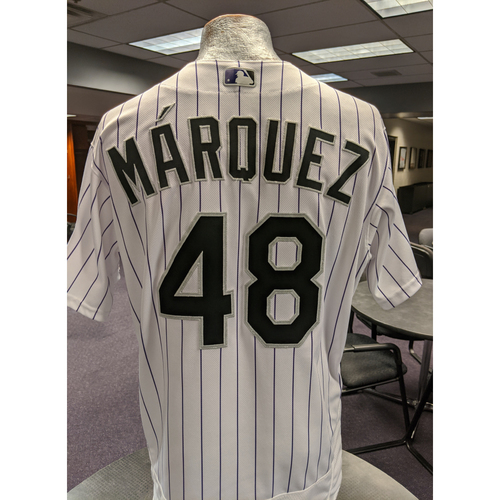 Photo of Colorado Rockies 2019 Game-Used Jersey: German Marquez