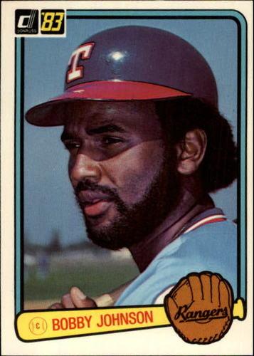 Photo of 1983 Donruss #494 Bobby Johnson