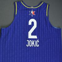 Nikola Jokic - 2020 NBA All-Star - Game-Worn Jersey Charity Auction - Team LeBron - 1st and 2nd Quarter