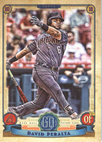 Photo of 2019 Topps Gypsy Queen #214 David Peralta
