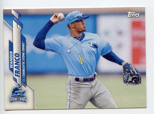 Photo of 2020 Topps Pro Debut #PD1 Wander Franco