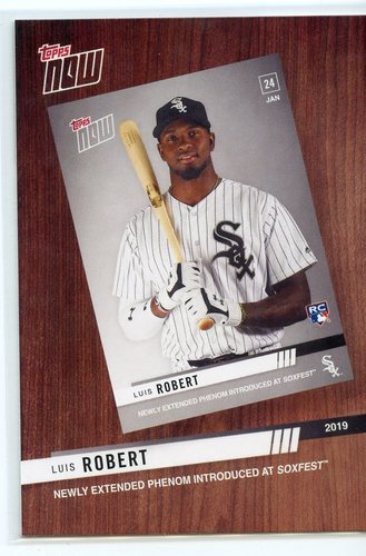 Photo of 2020 Topps Best of Topps Now #BTN9 Luis Robert