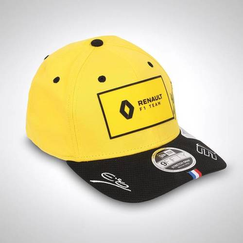 Photo of Esteban Ocon 2020 Signed Yellow Cap