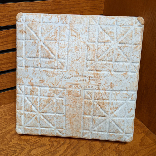 Photo of April 9, 2019 Opening Day Red Sox vs. Blue Jays Game Used 2nd Base