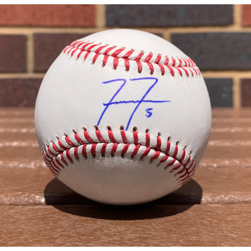 Photo of Freddie Freeman MLB Authenticated and Autographed Baseball