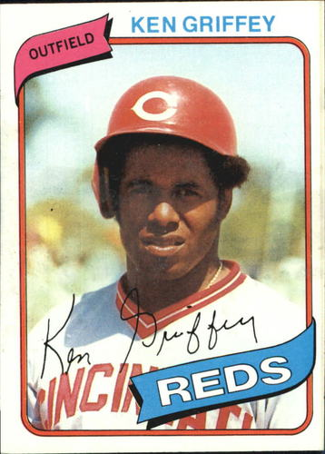 Photo of 1980 Topps #550 Ken Griffey Sr.