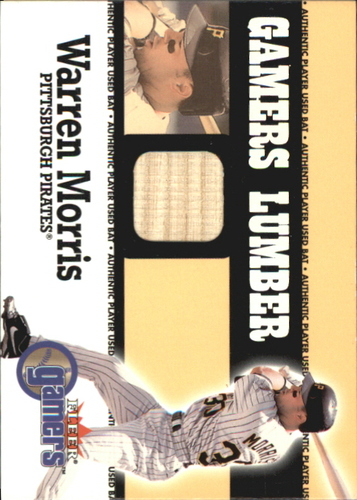 Photo of 2000 Fleer Gamers Lumber #33 Warren Morris