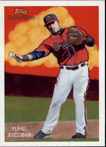 Photo of 2010 Topps National Chicle #54 Yunel Escobar