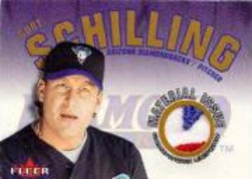 Photo of 2001 Fleer Genuine Material Issue #CS Curt Schilling SP/120 *